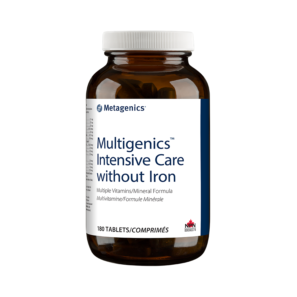 Multigenics™ Intensive Care without Iron
